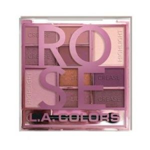 L.A. Colors Rose Eye Shadow Palette
